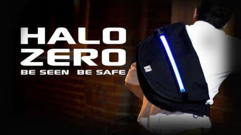 Halo Zero, le sac de coursier lumineux !