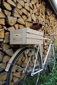 Oak Bicycle, le mélange du bois et de l'acier