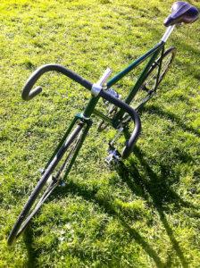 Vélo de route en Reynolds converti en pignon fixe