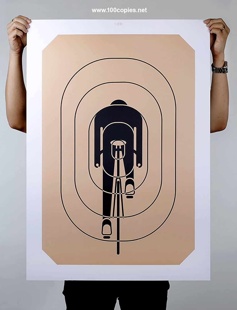 100Copies, le top des affiches bike design !