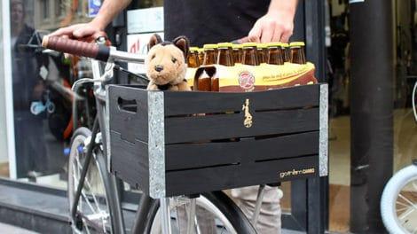 Gotham Cargo, de superbes portes bagages en bois !