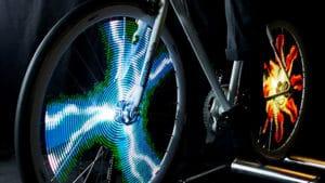 Monkey Light met des animations lumineuses sur votre vélo !