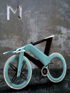Le vélo futuriste Mooby par Madella Simon