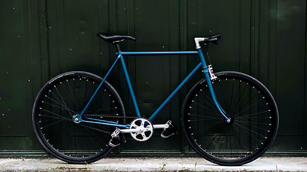 Vélo fixie ou pignon fixe urbain Peugeot Carbolite