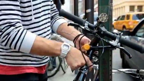 Vidéo Stolen Bike in NYC, comment ne pas se faire voler son vélo !