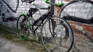 Vélo urbain fixie pignon fixe rétro sport Jacques Anquetil lillois