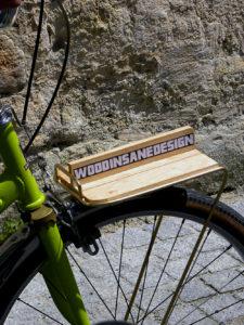 Singlespeed publicitaire Wood'Insane, Tire-toi une bûche !