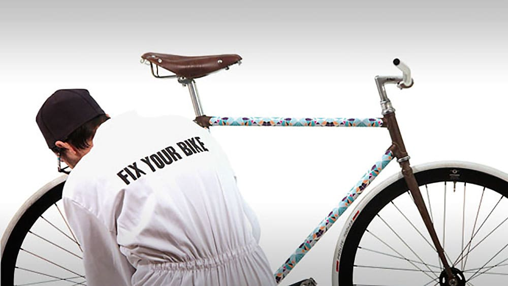 Fix your bike, kit sticker pour votre fixie ou singlespeed