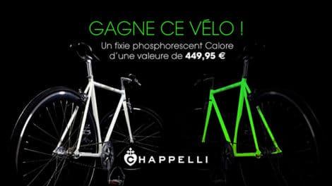 Jeu concours, gagnez un fixie phosphorescent Calore Chappelli