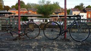 Vélo singlespeed Black & Grey made in Belgique