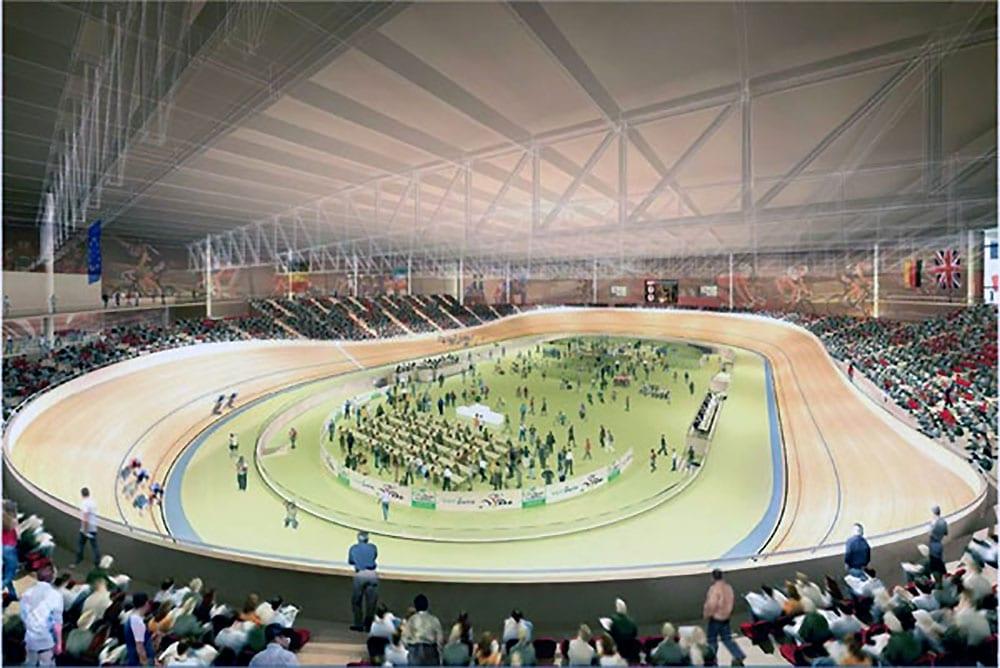 Le nouveau vélodrome de Saint-Quentin-en-Yvelines