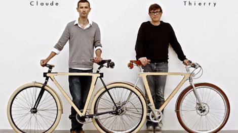 Le WOOD.b , le singlespeed design fait de bois et d'acier