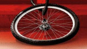 """Les antivol roue et selle """"Anti Vandal"""" Salon du cycle 2013"""