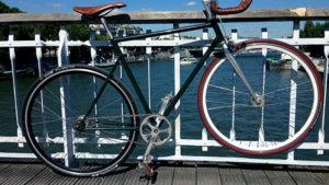 Le vélo pignon fixe de notre internaute du jour