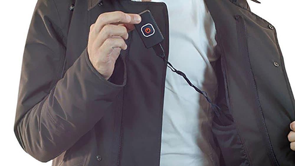 Esthete, la veste intelligente à Led, Salon du cycle 2013