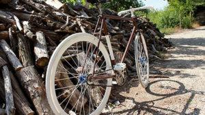 Vélo Handcrafted Old Bike Mercier flip flop