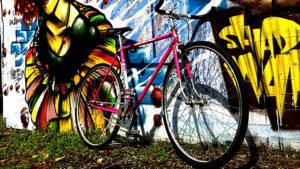 Vélo Mercier singlespeed rose ultra urbain