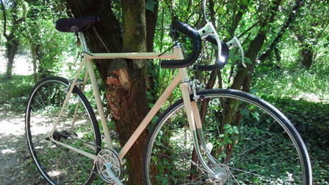 Vélo urbain singlespeed Peugeot lyonnais