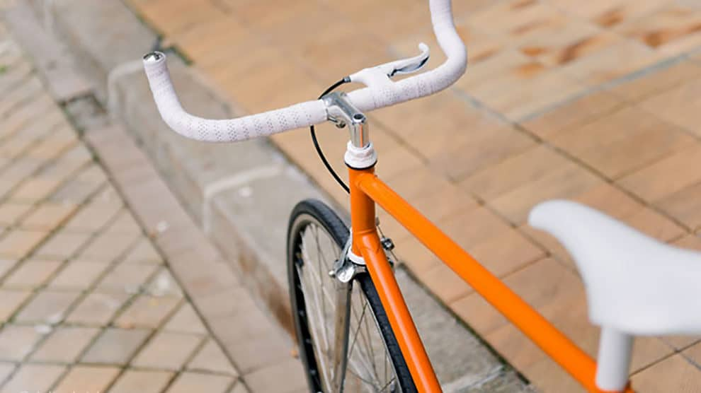 Un vélo singlespeed pour se rendre à son mariage !