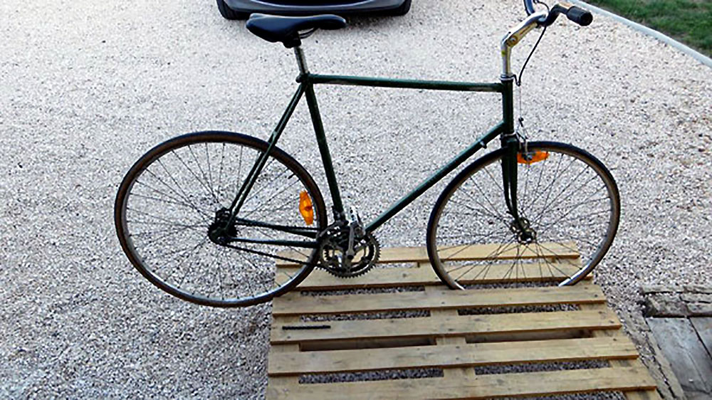 Vélo pignon fixe Luis Occana made in St Etienne