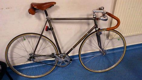 Pignon fixe fabriqué par Tobal Cycles à Marseillan