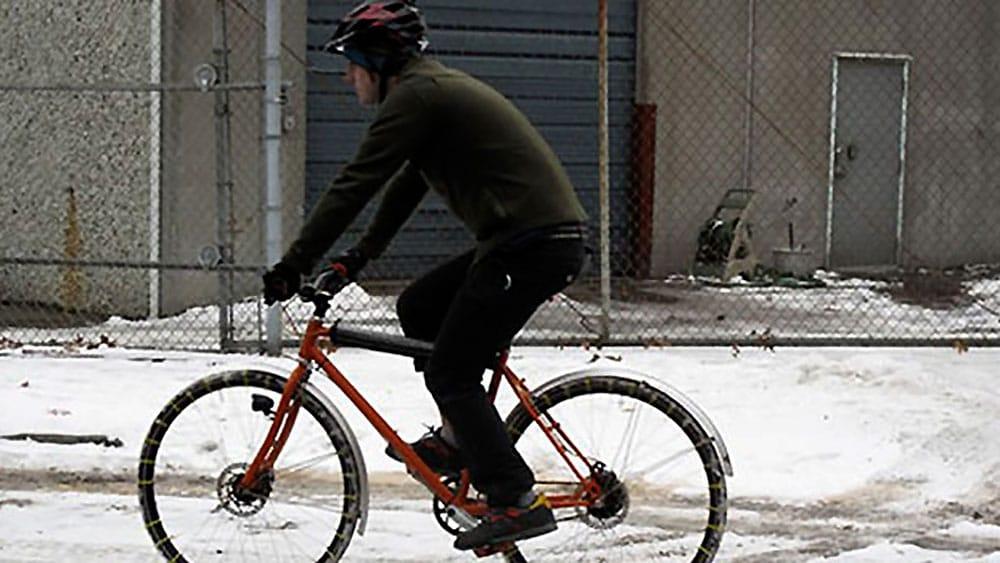 """Des chaînes à neige """"maison"""" pour votre vélo !"""