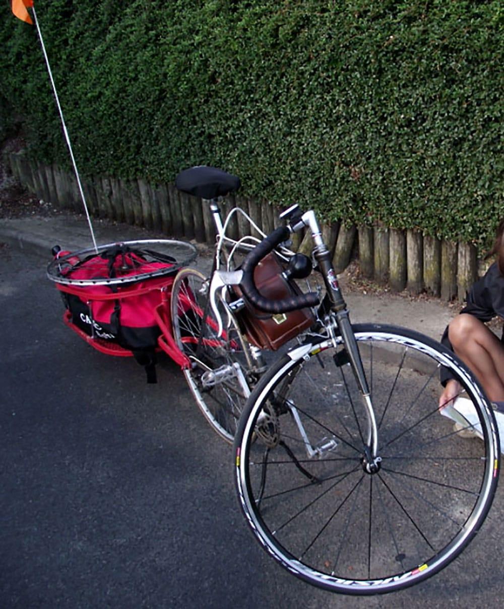 """Michael nous présente son vélo Mercier """"Terreur""""!"""