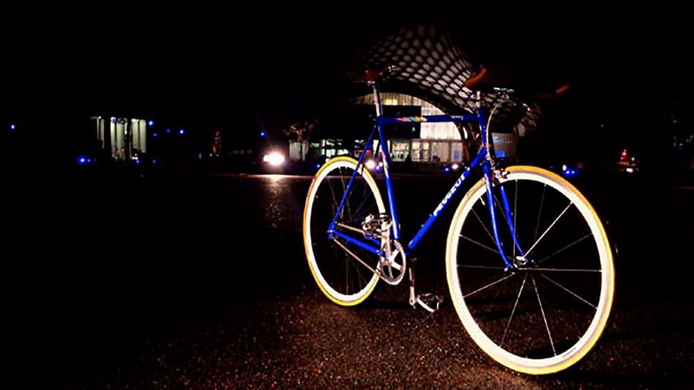 Vélo pignon fixe et singlespeed Peugeot Avoriaz de 1989