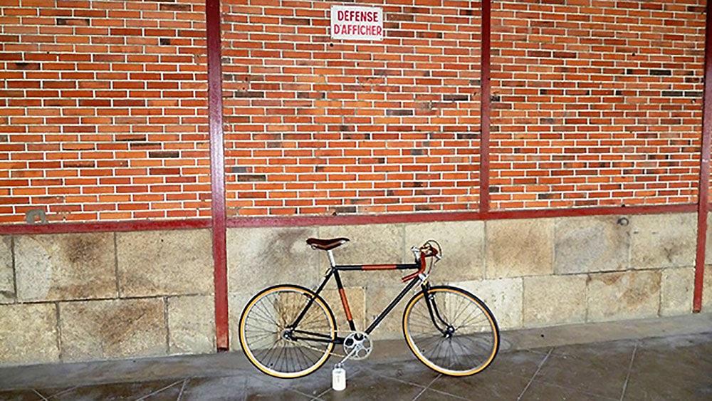 Vélo urbain singlespeed Alphonse Thomann néo rétro !