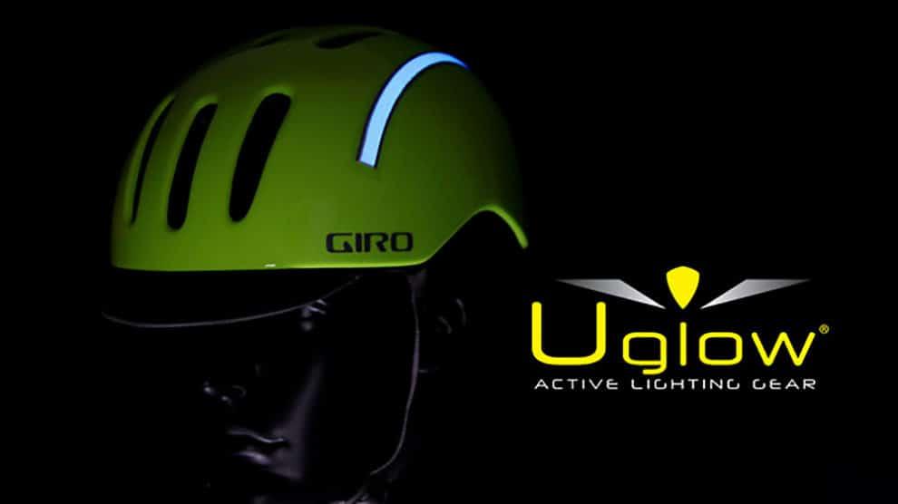 U-Helmet Kit Uglow, la sécurité de nuit sur votre casque !