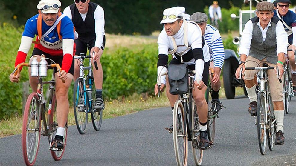Evénement Anjou Vélo Vintage, la rando vélo rétro !   Vélo ville ... 5f4bd233f155