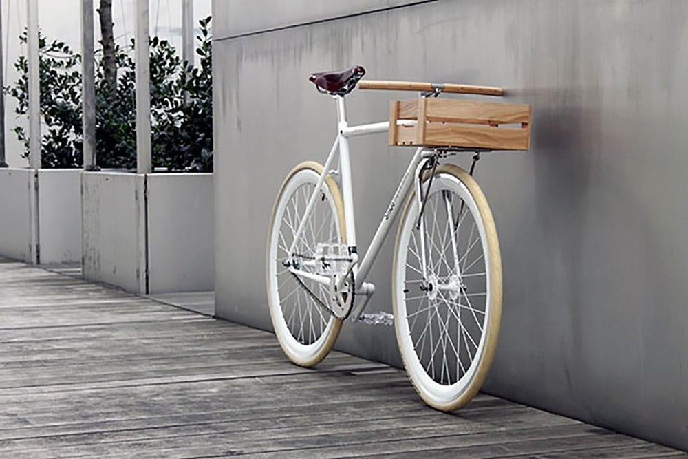 Vélo Fixie Singlespeed Smog Bicyclettes et Thibaut Malet