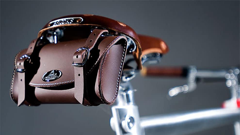Les sacoches de selle de vélo en cuir, un atout charme