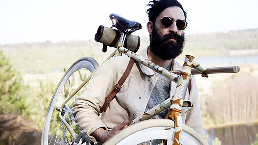 Vélo fixie l'Atelier de l'armée et Smog Bicyclettes