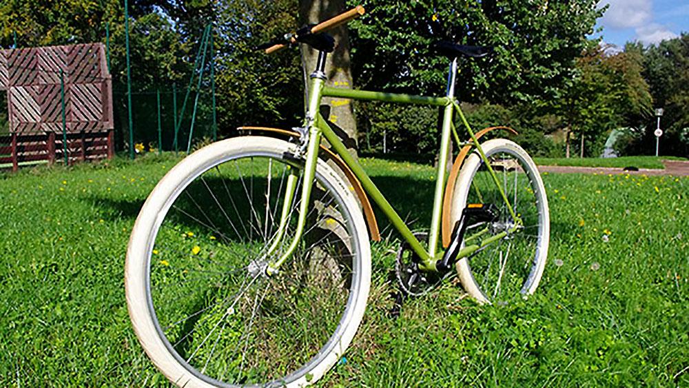 Vélo mono vitesse singlespeed Woody avec rétropédalage !