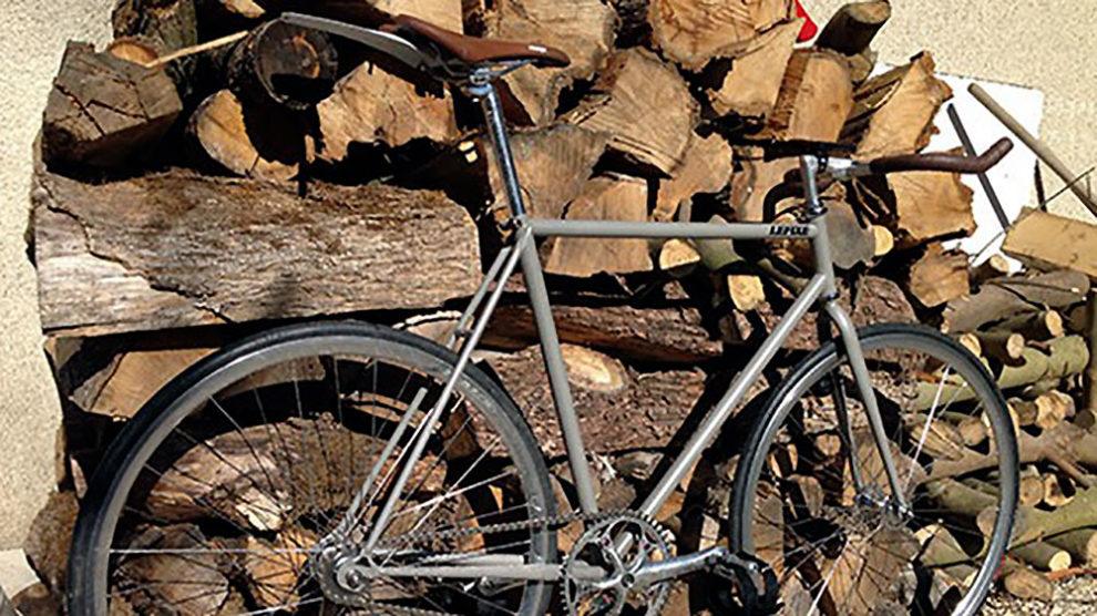 Vélo pignon fixe de Flavien, un Motobécane sur Grenoble