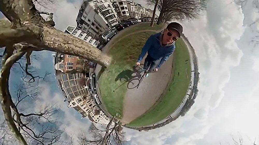 Vidéo incroyable, il se filme simultanément avec 6 GoPro !