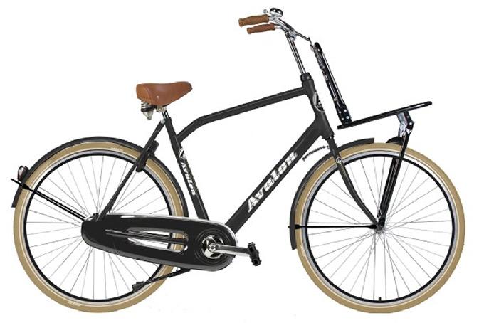 Vélo transport hollandais Avalon homme monovitesse