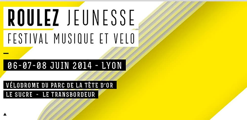 Rouler jeunesse, festival musique et vélo à Lyon