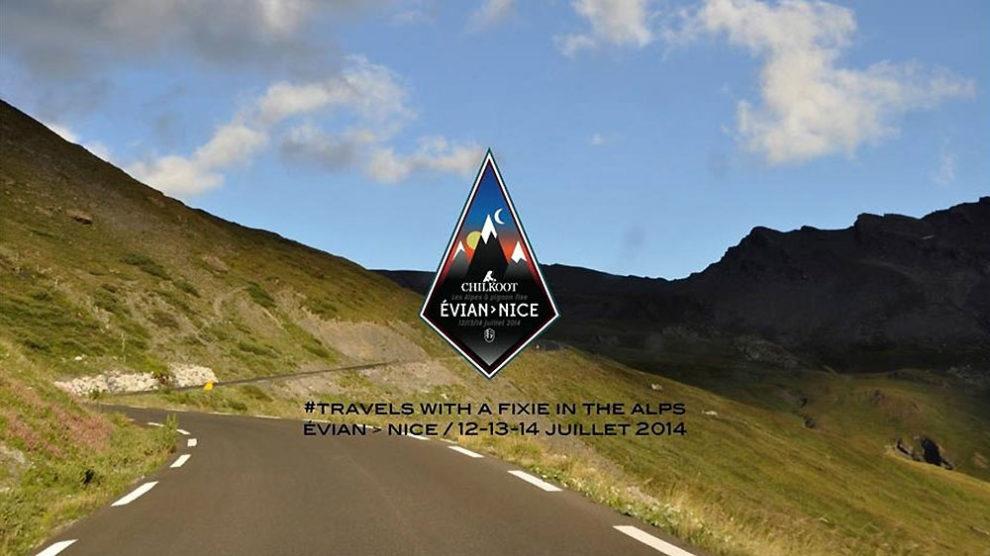 La traversée des Alpes en pignon fixe c'est possible