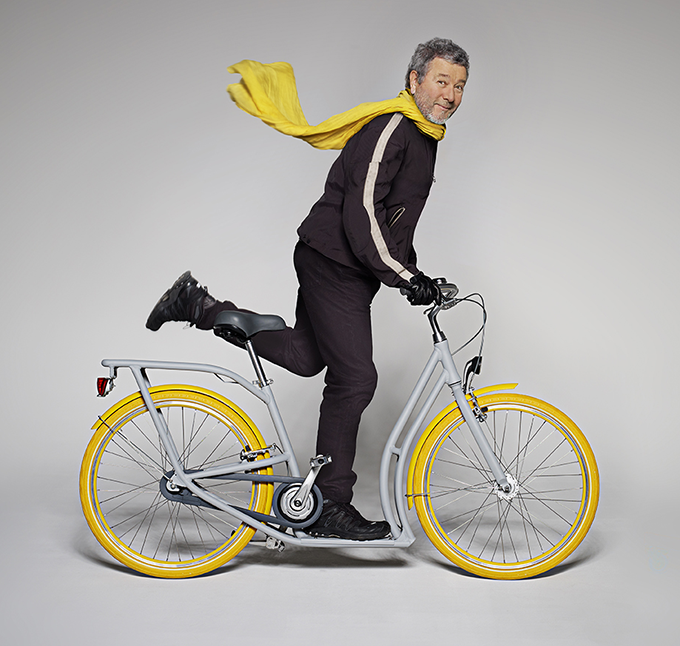 Le vélo urbain Pibal de Philippe Starck