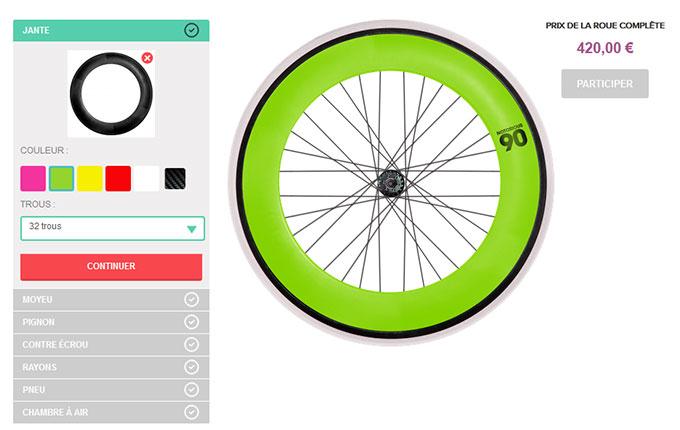 Gagnez une roue Macadam Cycles avec un jeu Facebook