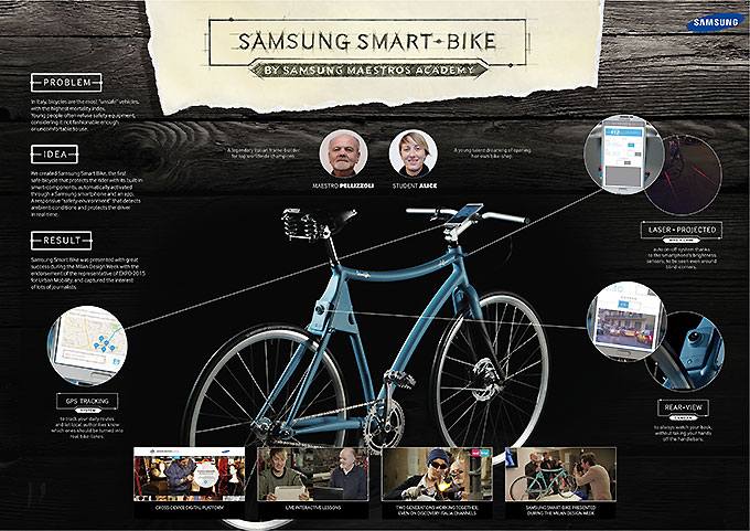 Le concept bike Samsung Smart Bike
