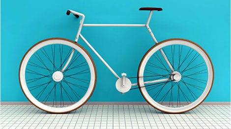 Un vélo fixie démontable qui tient dans un sac à dos