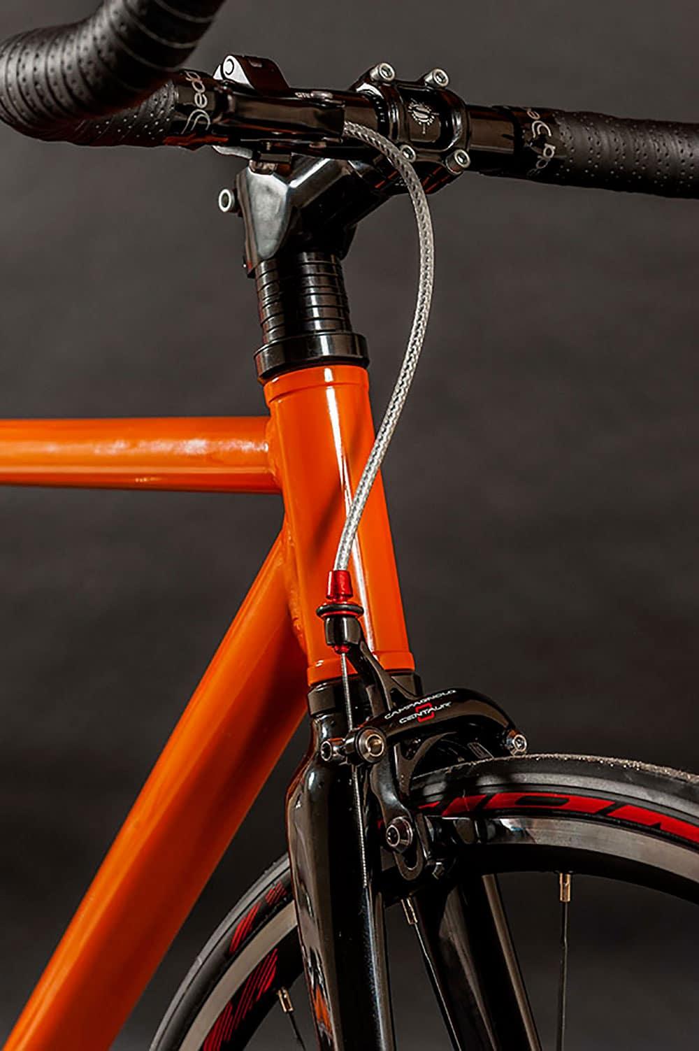 Un vélo singlespeed pour l'anniversaire de la Porsche 911