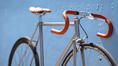 Le vélo de Tonton Louis devenu un vélo urbain en mode fixie !