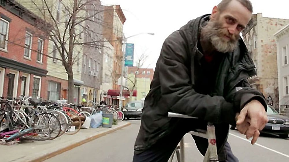 Delivery, la vidéo d'un livreur de pizzas à vélo de Brooklyn