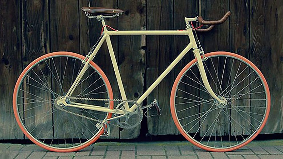 "Vélo ""Fernand"", la bicyclette singlespeed des Cycles Lelapin"