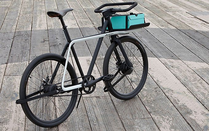 Le vélo urbain du future, le Teague Denny Bike