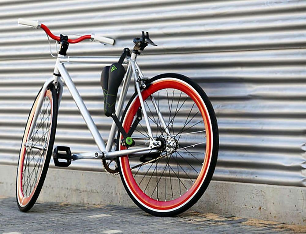 Seatylock, une selle de vélo qui fait aussi antivol